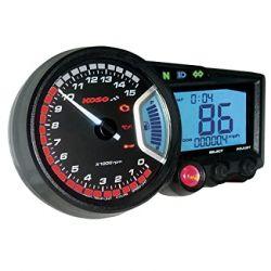 Compteur de vitesse et compte-tours KOSO RX1N GP style