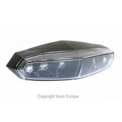 Compteur de vitesse et jauge à essence KOSO D55 DL-01S black LCD