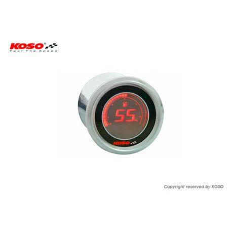 Jauge à essence KOSO D48 black LCD