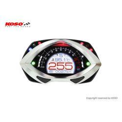 Compte-tours KOSO D48 Eclipse style avec shift light de 0 à 15000tr/min