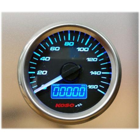 Compteur de vitesse et jauge à essence KOSO D48 GP Style