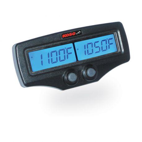 Dual thermomètre EGT KOSO série race