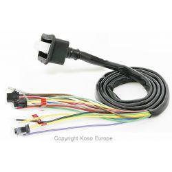 Câble de remplacement pour compteur digital KOSO RX1N, RX2