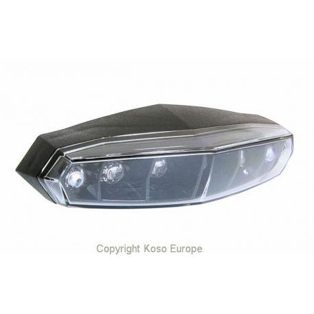 Feu arrière KOSO à LED homologué CE universel pour moto, scooter et quad