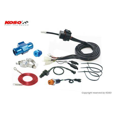 Kit complet plug and play KOSO RX1N / RX2 pour Kawasaki Ninja 250R