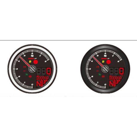 TOOGOO Cable de Capteur pour Moto Num/érique VTT Odom/ètre Compteur de Vitesse Tachym/ètre