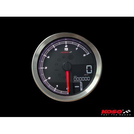 Compteur de vitesse digital KOSO HD D94 Harley Davidson écran LCD couleur