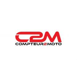 Compte-tours voiture & moto C2M 70mm - 9000tr/min universel