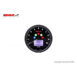 Compte-tours & compteur de vitesse KOSO TNT D64mm 10000tr/min