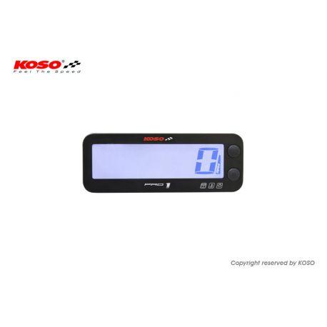 Compte tours digital KOSO PRO-1 RACE avec thermomètre
