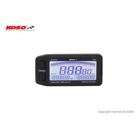 KOSO EFI multimeter RPM Dual thermomètre A/F Ratio