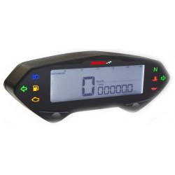 Compteur de vitesse & compte-tours digital multifonctions KOSO DB01R+