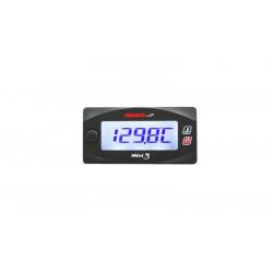 Dual thermomètre KOSO mini style 0 à 120°C