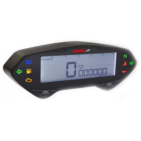 Compteur de vitesse digital et compte tours KOSO DB01RN